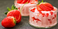 Cara Membuat Resep Puding Strawberry