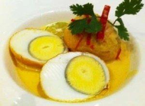 resep praktis telur masak kuning