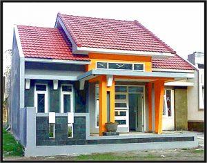 desain pagar rumah minimalis lebar 6 meter tipe 1 lantai