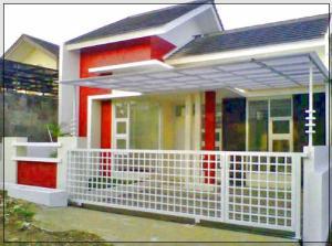 contoh warna cat pagar rumah yang bagus
