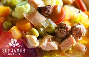 Resep Sup Jamur Bola Daging