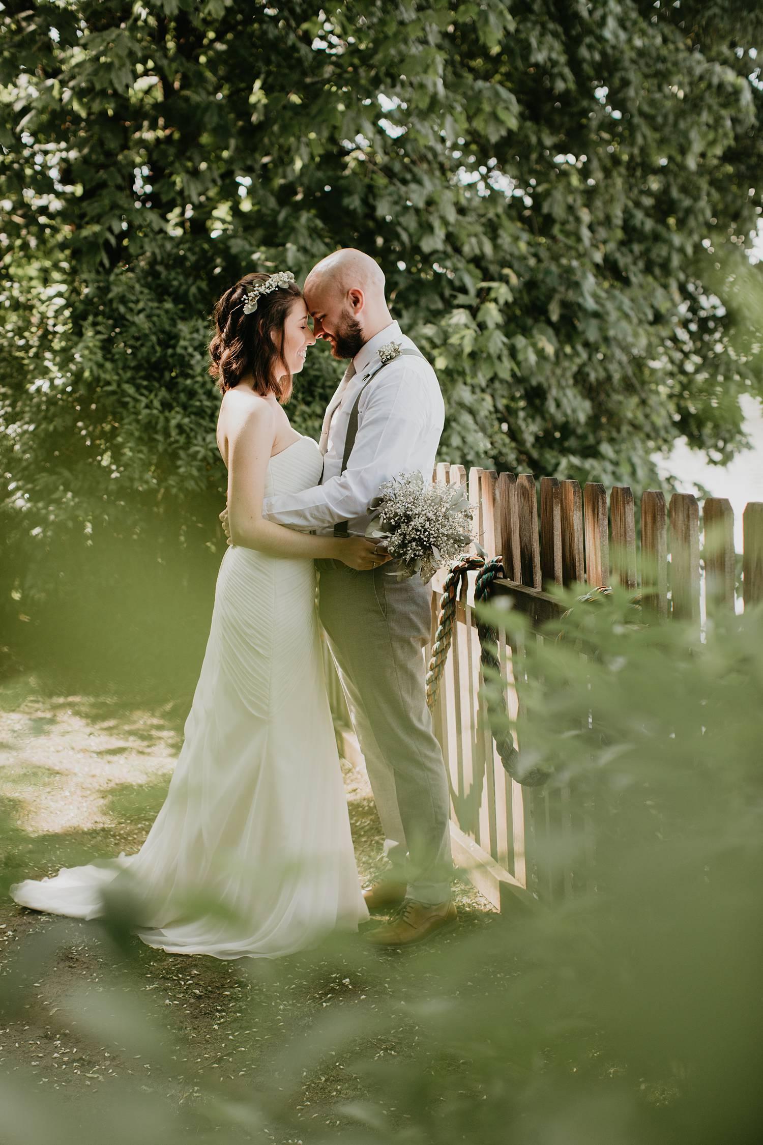Christina Amp Ian Are Married Cara Rufenacht Creative