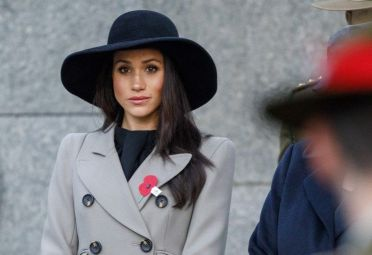 Meghan Markle en Hyde Park, London.