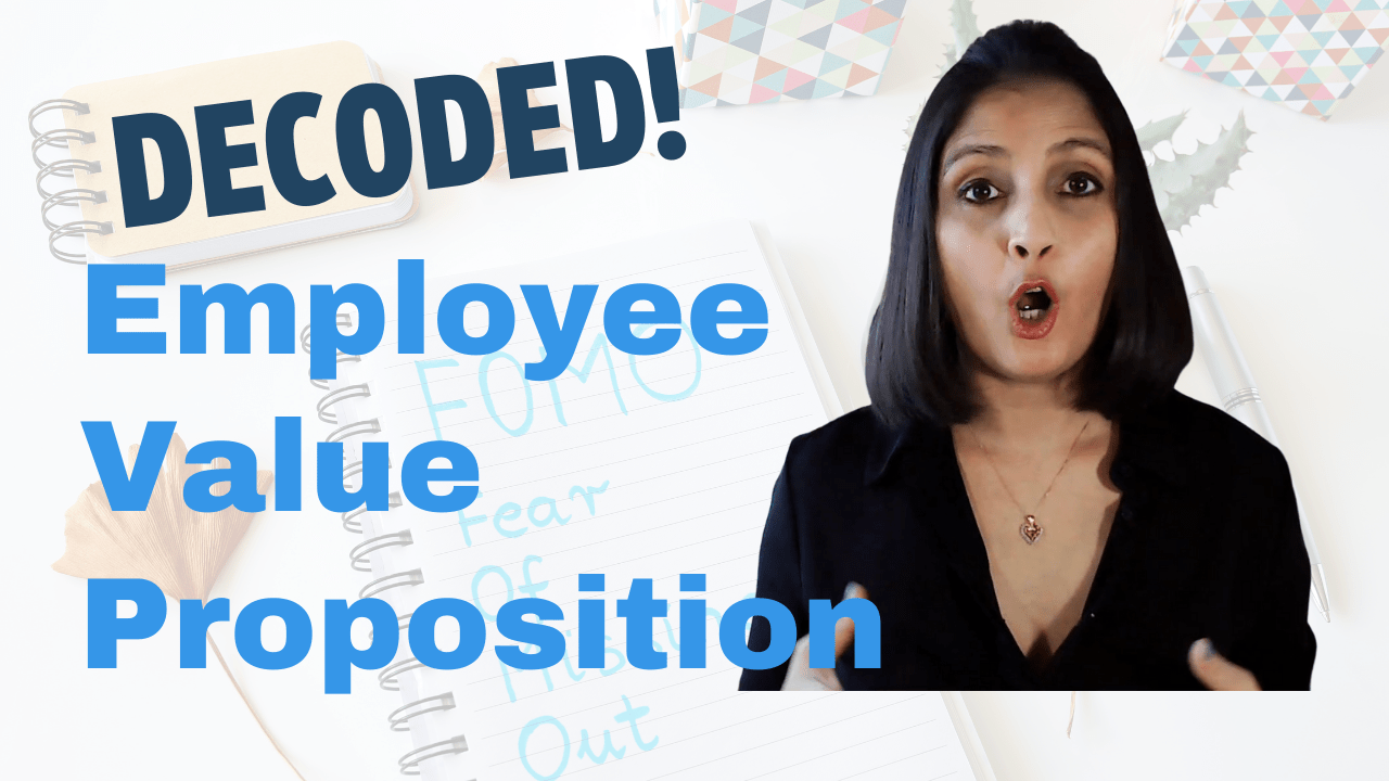 EVP Employee Value Proposition DECODED