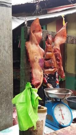 Fresh pig face
