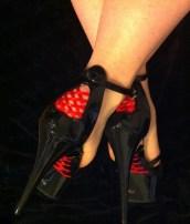 Pleaser Delight Heels Lace-Up Platform Stilettos Sexy Shoes