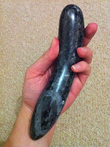 LAID D1 Stone Dildo Review | Stone Sex Toy Reviews