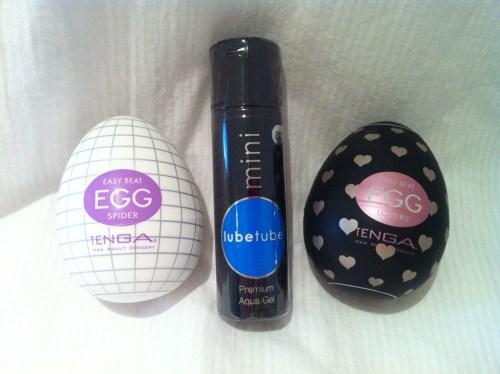 Give Lube And TENGA Eggs Christmas Competition