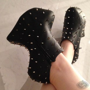 Vivienne spike ankle boots