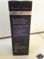 Fifty Shades of Grey Ready for Anything Aqua Lubricant 100ml Review