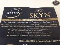 Mates SKYN Original condoms review