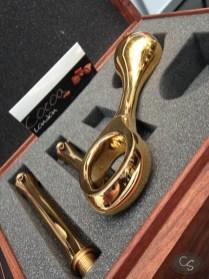 Cocoa London gold plated dildos