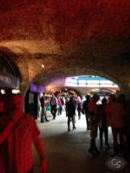 In the catacombs of Tobacco Dock