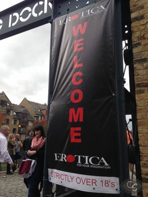 The Erotica Show London Tobacco Dock 2013 Report - Cara Sutra