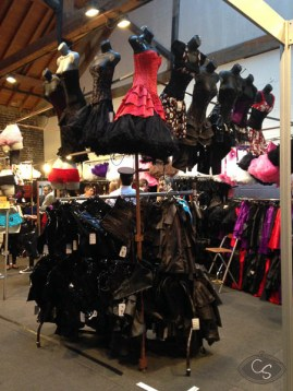 Plenty of corsets & sexy lingerie
