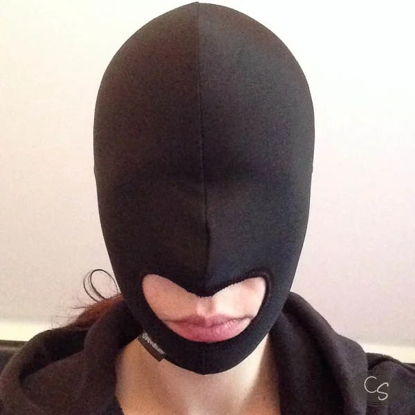 Sexual Wellness Blow Hole Open Mouth Spandex Hood With A Long Standing Reputation Health & Beauty