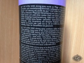 Pjur Cult Rubber and Latex Shine Spray Review