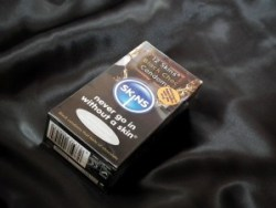 Skins Condoms Black choc flavoured latex condoms review