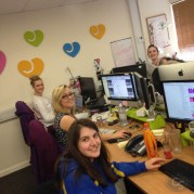 lovehoney tour visit content writing team - lucy plum, jess and cazz