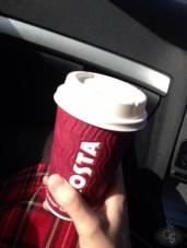 en route to eroticon 2014 coffee