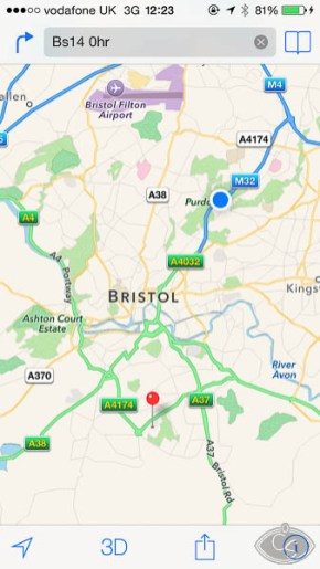 en route to eroticon 2014 bristol uk
