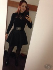 cara sutra dressed up selfie eroticon 2014