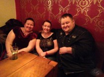 victoria bliss, kev mitnik blisse and lucy felthouse at eroticon 2014 cocktail party