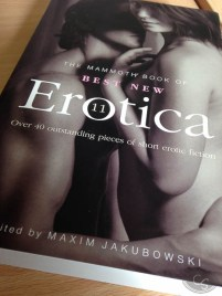 The Mammoth Book of Best New Erotica 11 Maxim Jakubowski erotic book review