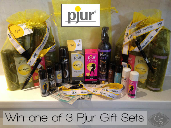 Pjur Lubricants gift set competition at Cara Sutra