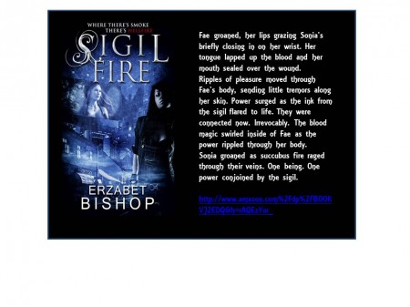Erzabet Bishop Erotic Author Spotlight Series