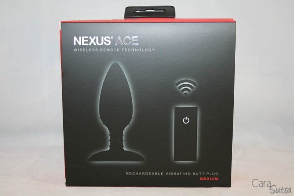 Nexus Ace Remote Controlled Butt Plug-CS-800-2