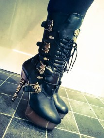 demonia muerto boots cara sutra wearing review 800-24