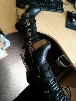 demonia muerto boots cara sutra wearing review 800-3
