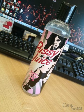 Pussy Juice Vagina Scented Lube Review by Cara Sutra