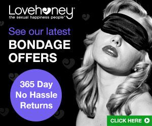 bondage gear offers lovehoney