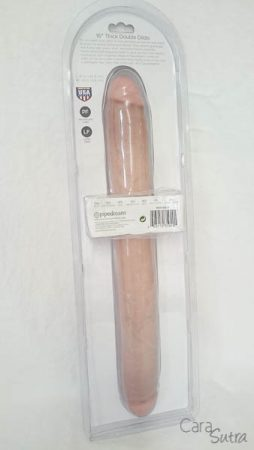 Pipedream King Cock 16 Inch Double Dildo Bondara Pleasure Panel Review Red Divine