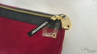 liberator red lockable sex toys storage bag - cara sutra review-3