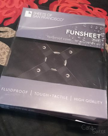 Sheets of San Francisco Fluidproof Flat Printed Fun Sheet Review by Cara Sutra