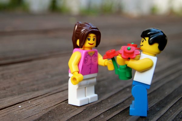lego couple adult play time