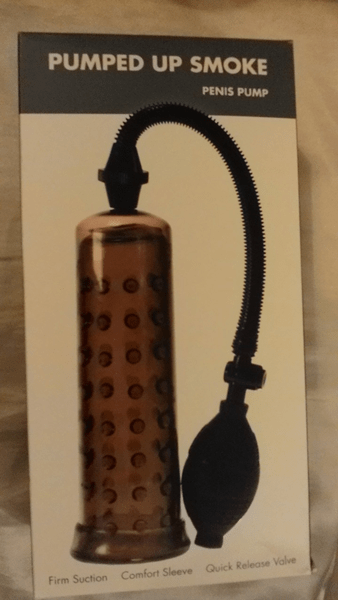 Linx Pumped Up Smoke Penis Pump Review by the Pleasure Panel