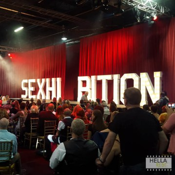 The Sexhibition stage
