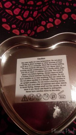 Lovehoney Cherry Lickable Massage Candle Cara Sutra Pleasure Panel Review pinkgilly15-7