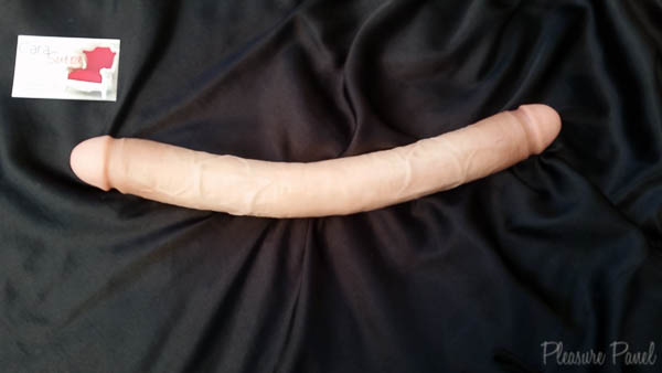Pipedream King Cock 16 Inch Double Dildo Cara Sutra Pleasure Panel Review-11