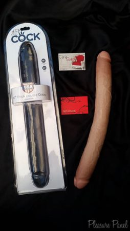 Pipedream King Cock 16 Inch Double Dildo Cara Sutra Pleasure Panel Review-5
