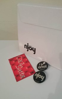 CS pics Njoy eleven Stainless Steel Dildo Review packaging-1