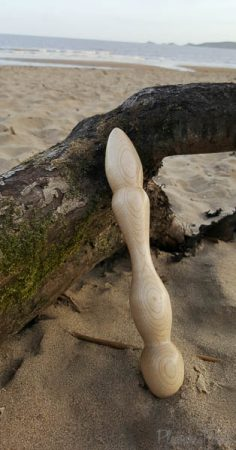 FreudeAnHolz Aquila Birch Wooden Dildo Review Cara Sutra Pleasure Panel-4