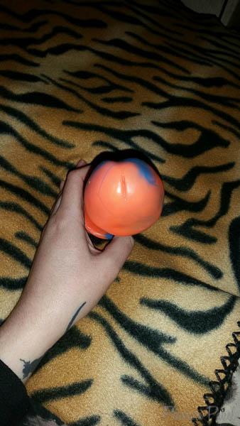 GODEMICHE Orange and Blue Adam-Bi Dildo Pleasure Panel Review Cara Sutra-3