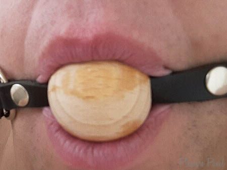 Rimba Wooden Ball Gag with Adjustable Leather Strap Review-1