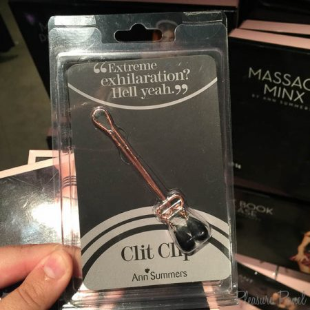 Ann Summers Rose Gold Nipple Clamps Review