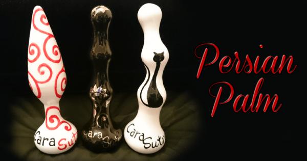 Persian Palm Ceramic Sex Toys Hand Painted Personalised Pleasure Sculptures
